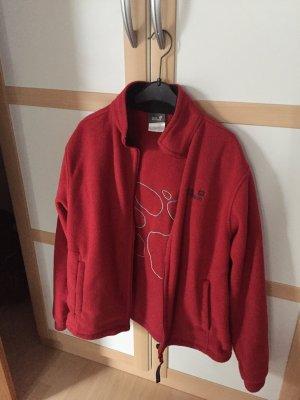 Jack Wolfskin Fleece Jackets dark red