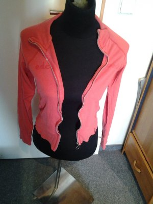 Jacke - dünn - EDC by Esprit - Rosa/Flamingo - Größe XS - Reißverschluss