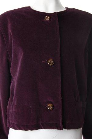 Strick Cardigan dunkelviolett Vintage-Artikel