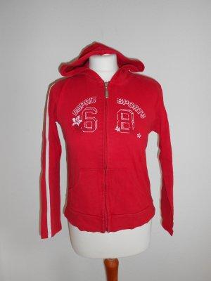 Jacke Esprit rot mit Aufdruck