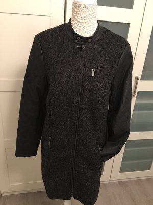 Esprit Wool Jacket black-anthracite