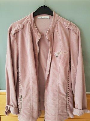 Monari Long Jacket dusky pink