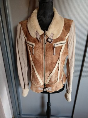 Biba Fur Jacket bronze-colored-beige
