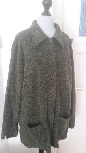 Fleece jack groen