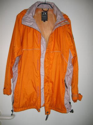 Jacke Funktionsjacke Outdoorjacke Regenjacke Gr. 36 orange JEANTEX