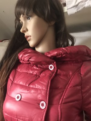 Long Jacket bright red