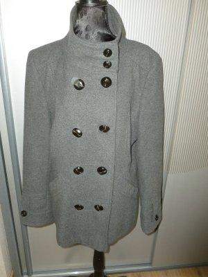 Damo Wool Jacket dark grey