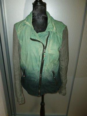 Jacke grün grau proud