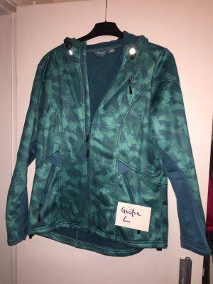 Jacke grün softshell