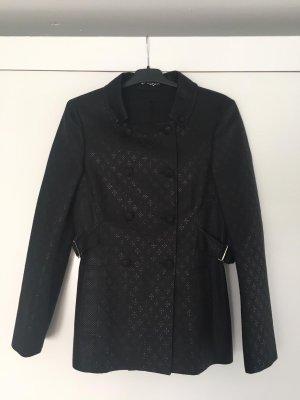 Gucci Between-Seasons Jacket black cotton