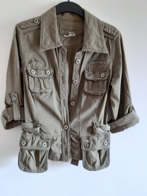 Guess Safari Jacket green grey