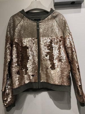 Guess Bomber Jacket gold-colored-khaki