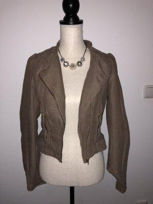 H&M Giacca marrone-marrone-grigio