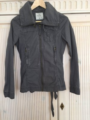 Jacke H&M LOGG Größe 34 grau/blau/anthrazit