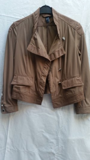 Jacke, High Teck, made in Italy by Claire Campbell, Braun