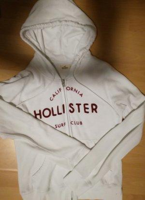 Jacke / Hollister / Weiß + Rot