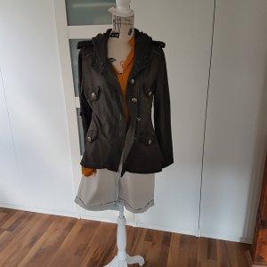 Jacke im angesagten Armystyle - made in Italy Größe L - XL Steampunk? Karneval Kapuze
