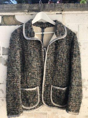 Chaqueta de lana multicolor Lana
