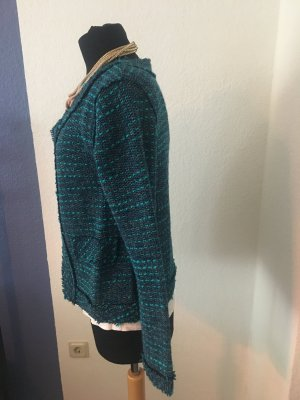 Jacke im Tweed-Look