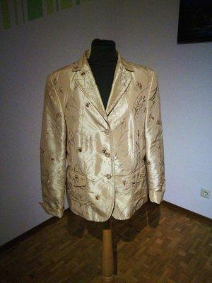 Jacke in gold von Gelco