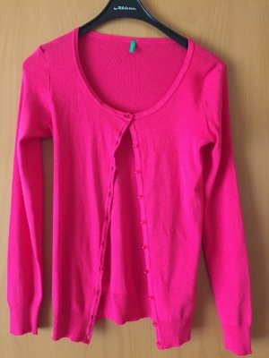 United Colors of Benetton Giacca-camicia magenta