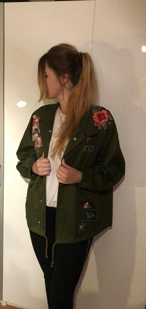 Zara Veste mi-saison multicolore