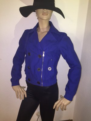 Jacke in kräftigem Königsblau, sehr wenig getragen (Spoom)