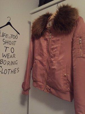 Jacke in rosa!