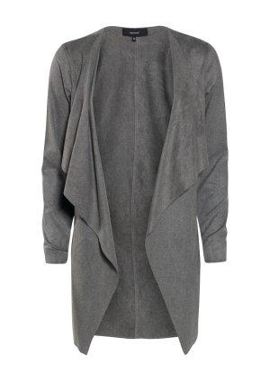Jacke in Velours Leder  grau L von Soyaconcept