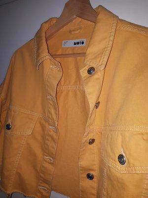 Jacke Jeans gelb