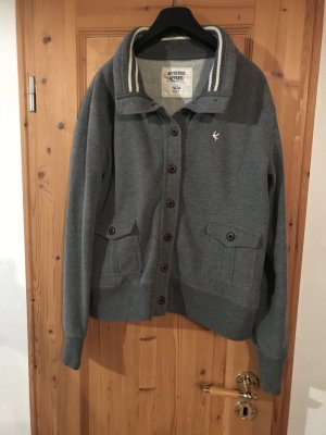 College Jacket grey-white