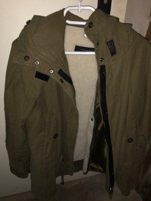 Zara Double Jacket khaki