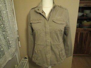 Soccx Military Jacket khaki cotton