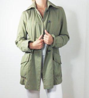 Jacke Khaki grün cinque lang Mantel
