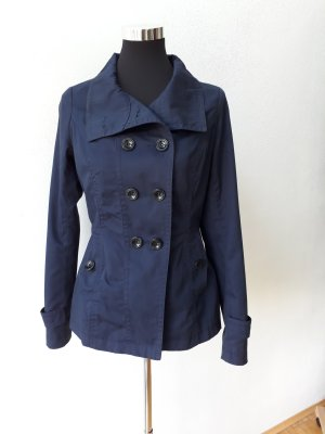 Jacke kurzer Mantel Vero Moda blau Gr. S