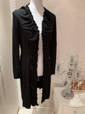 Jacke lang dünn schwarz gr 36