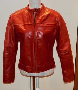 Biker Jacket dark orange