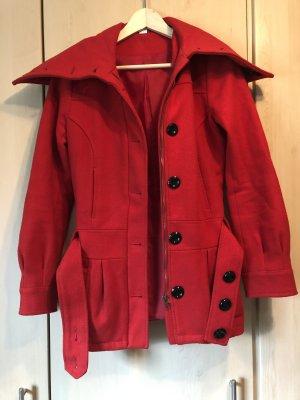 H&M Abrigo corto rojo