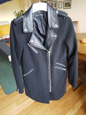 jacke mantel gr. 38 schwarz