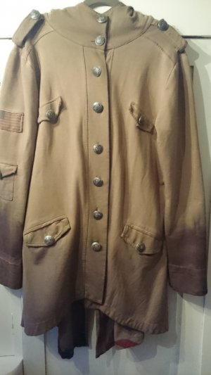 0039 Italy Jacket grey brown-light brown