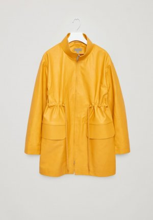 COS Jacket yellow leather