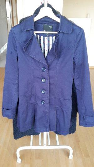 Jacke Mantel Schösschen Trenchcoat