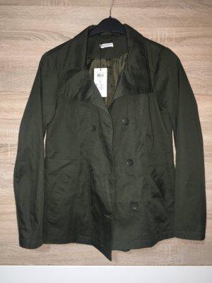 Jacke Mantel Trenchcoat Herbst Frühling neu Khaki M 38
