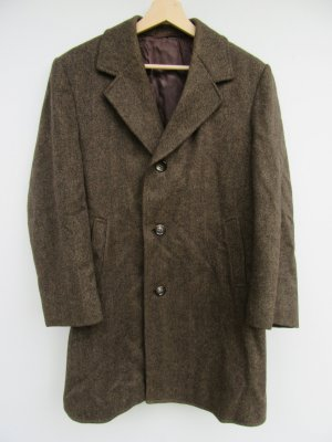 Vintage Oversized Coat brown