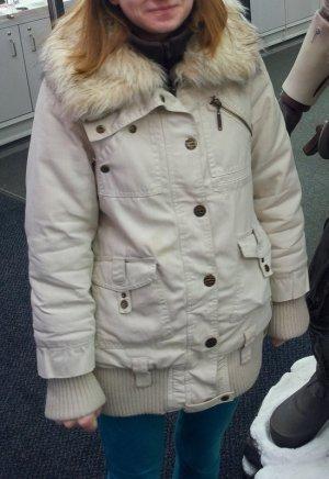 Jacke Mantel warm beige