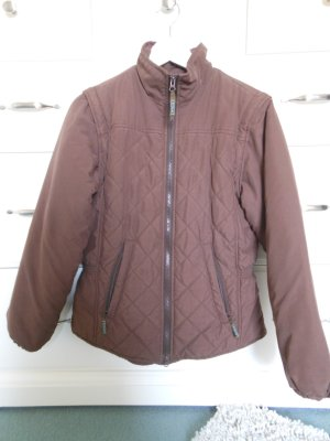 Aigle Quilted Jacket brown polyester
