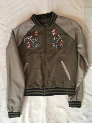Romeo & Juliet Couture Giacca bomber grigio-verde Poliestere