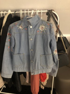 Topshop Veste en jean bleu