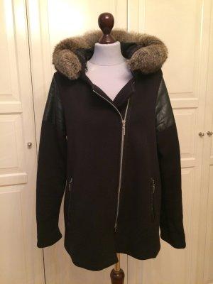 Jacke mit Echtfell-Kapuze von der Firma Airfield