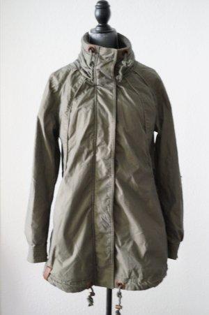 Jacke mit gerafftem Stehkragen von NAKETANO, Größe XL